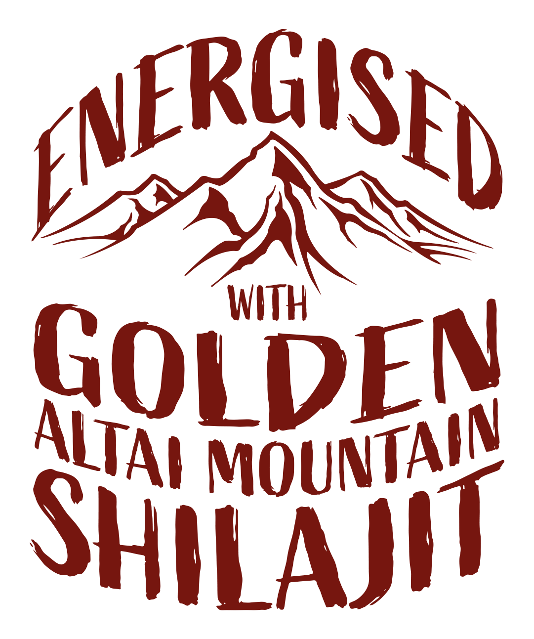 Energised with Golden Altai Mountain Shilajit Logo
